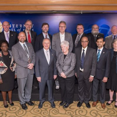 2014 Inductees and Inductee Representatives