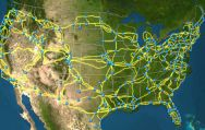 U.S. Cable Network Map