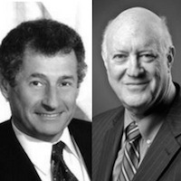 headshots of Steve Crocker and Leonard Kleinrock