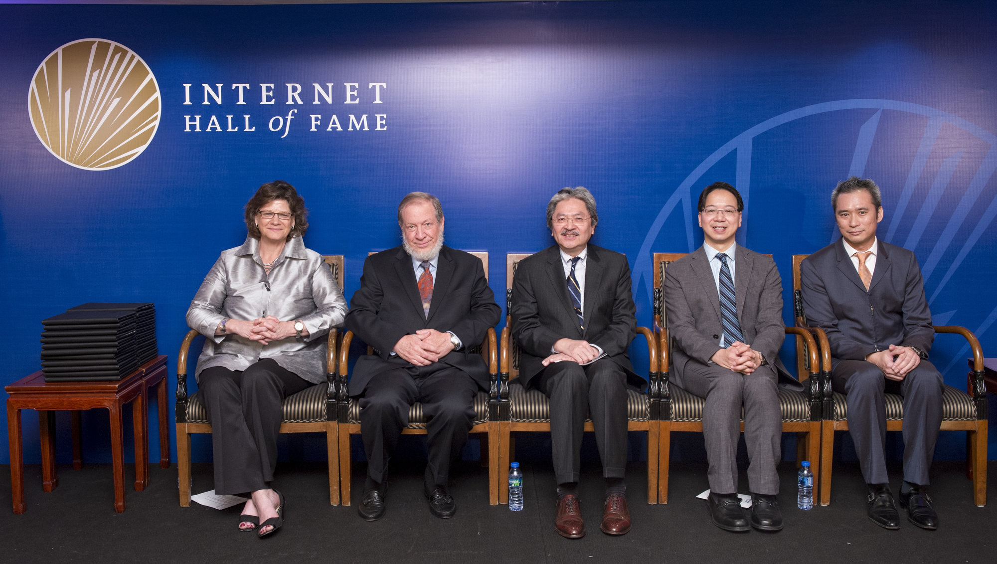Kathy Brown, Bob Hinden, John Tsang, Charles Mok and Chester Soong